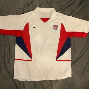 2002 U.S Men's National Soccer team jersey